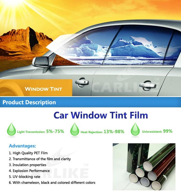 High heat rejection original 3m window uv for Film protection uv fenetre