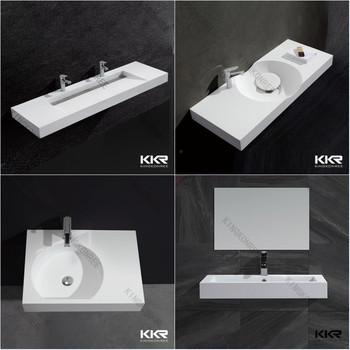 Modern European Solid Surface Bathroom Sinks