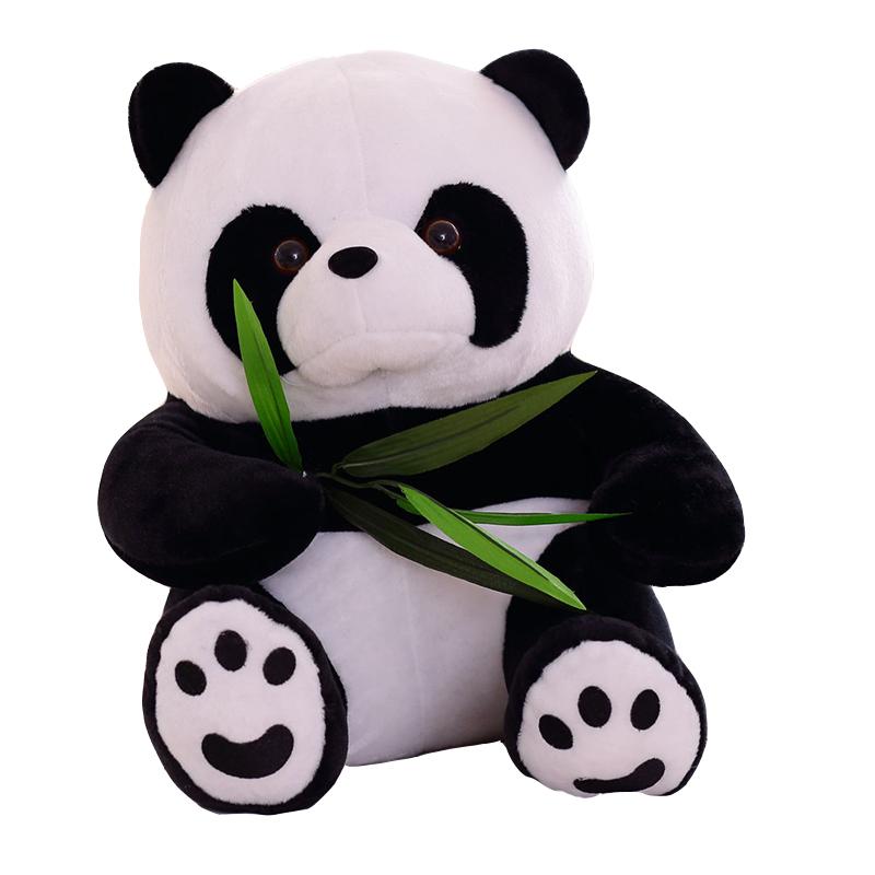 ราคาถูก mini ตุ๊กตาตุ๊กตา panda ตุ๊กตาของเล่นน่ารักไขมัน panda plush ของเล่นสำหรับของขวัญ