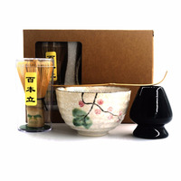 Japanese Matcha Tea Ceremony Gift Set With Gift Box Support Printing