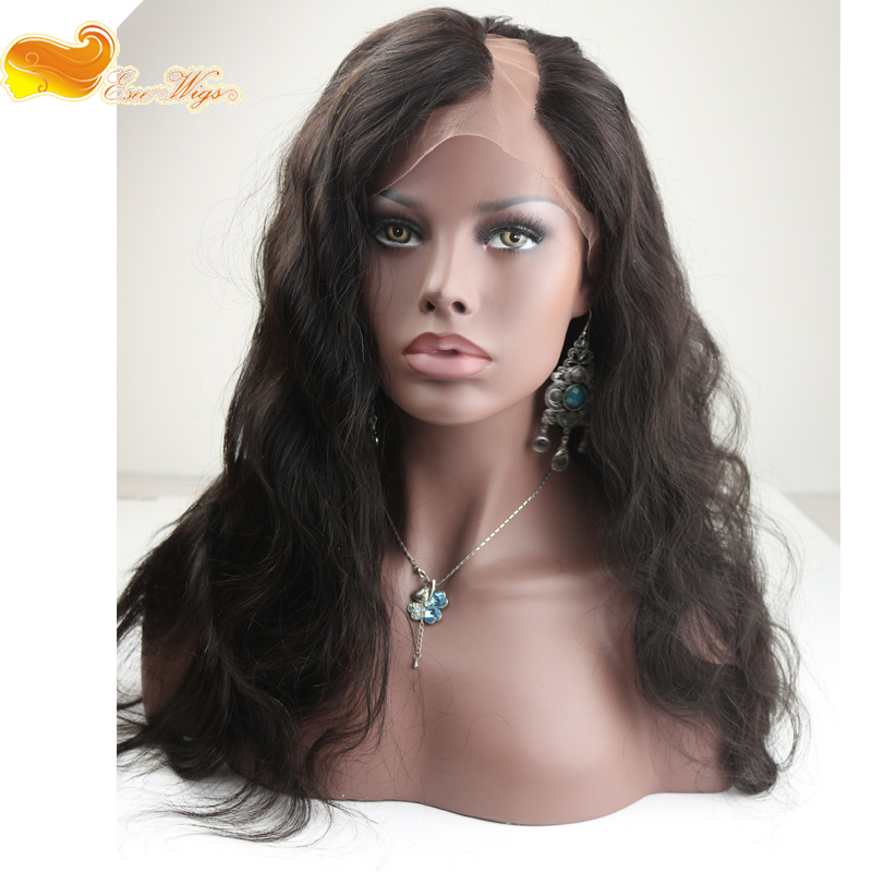 Wholesale Super Quality 100% Human Hair Body wave U Part Wig 8-24Inch In Stock