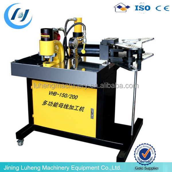 Lowest price hydraulic cnc cutting machine copper busbar machine