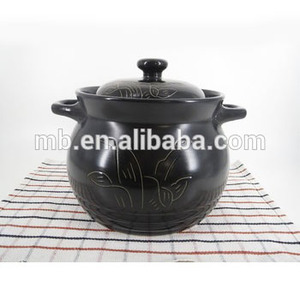 Hot sale factory price clay cooking pot earthenware cooking pot
