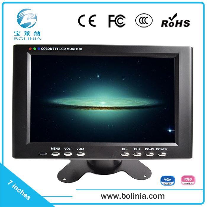 Top products hot selling new aoc 7 inch lcd monitor