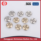 Fashion contemporary design golden ring buttons Exported to Worldwide