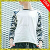 2015 new style camouflage color combination boys printed t shirt,cool casual cotton man Wholesale shirts