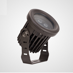 outdoor portable DC12V/AC85-265V spike led Garden spotlight 9w
