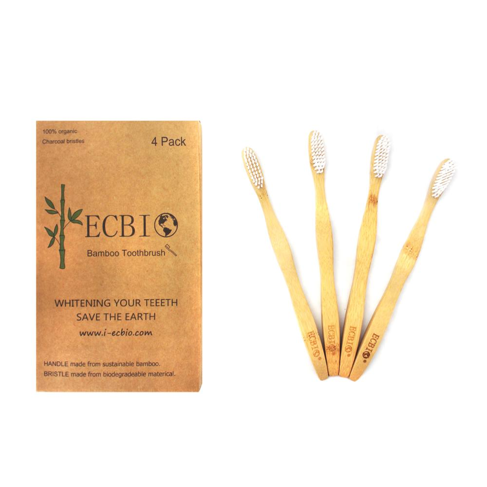 Health clear bamboo toothbrush <strong>eco</strong> friendly