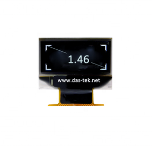 1.46 inch 128x128 SPI I2C SH1107 OLED display