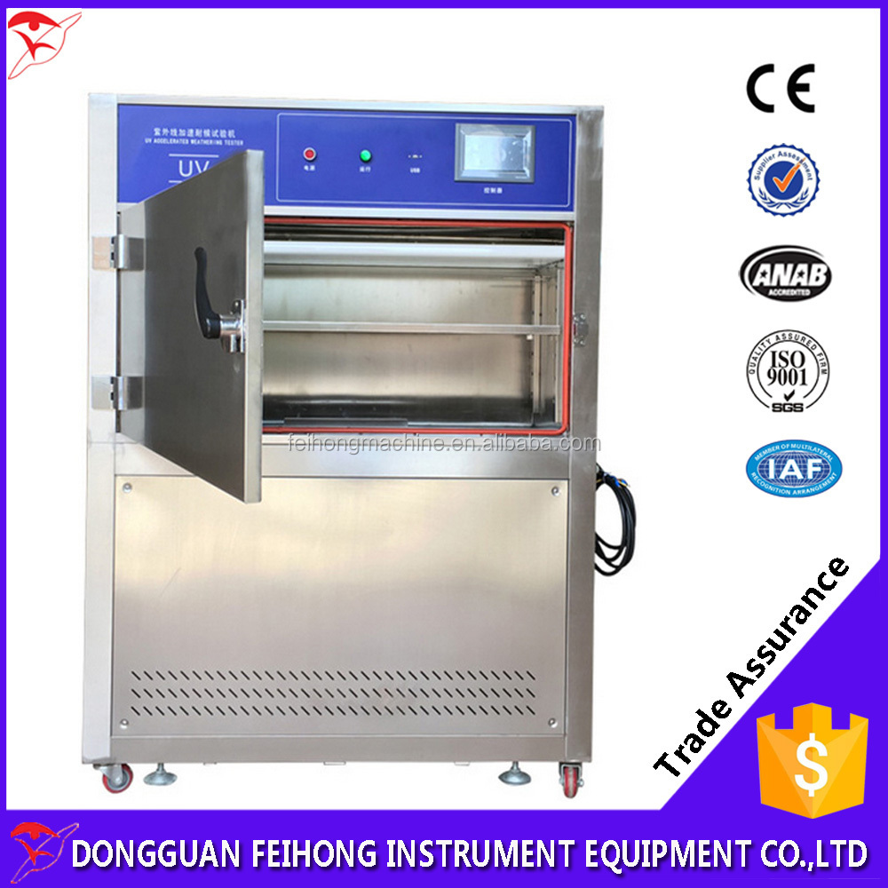 UV accelerated weathering aging test equipment