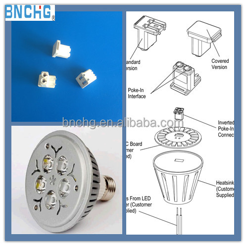 Equivalent Tyco 2213189-1 Inserted SMT Connector for LED High Bay