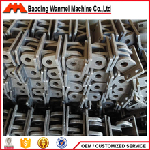 Customized precision cnc investment casting steel base stent