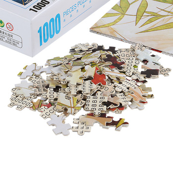 1000 Piece Children Educational High Quality Wooden Jigsaw Puzzle