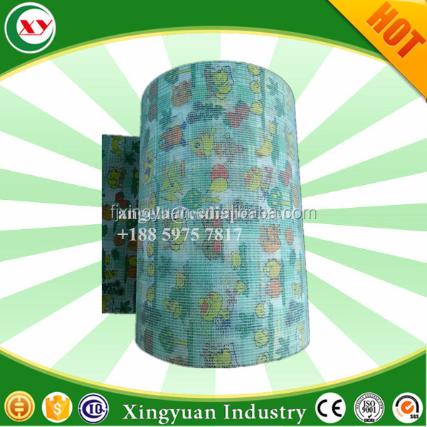 Magic frontal tape raw material for ultra thick adult diaper