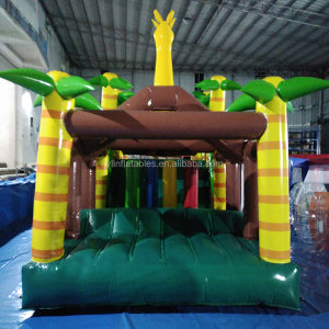 Children Inflatable Caterpillar Tunnel , Caterpillar Inflatable Obstacle Course for Kids