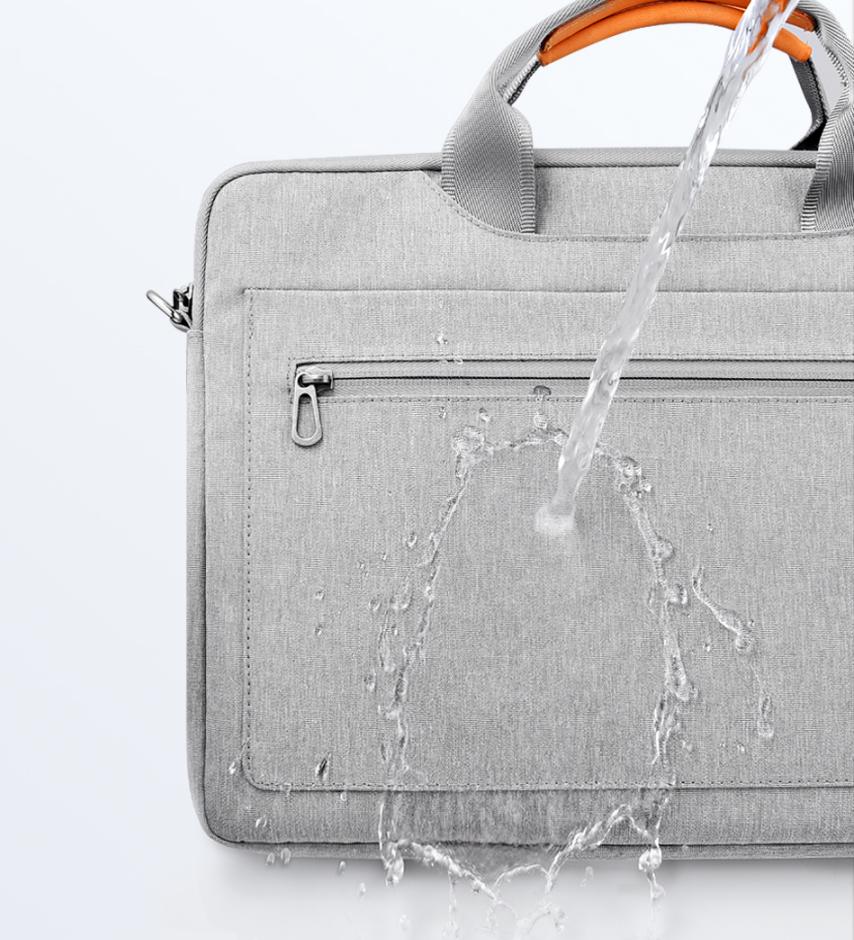 Wiwu Slim design laptop briefcase bag computer messenger handbag with shoulder strap and front pocket carrying bag