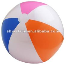 Inflatable pvc beach ball