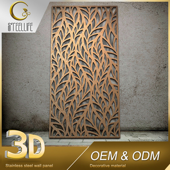 Wall Paneling Wholesale Decorative Stainless Steel Sheet Metal