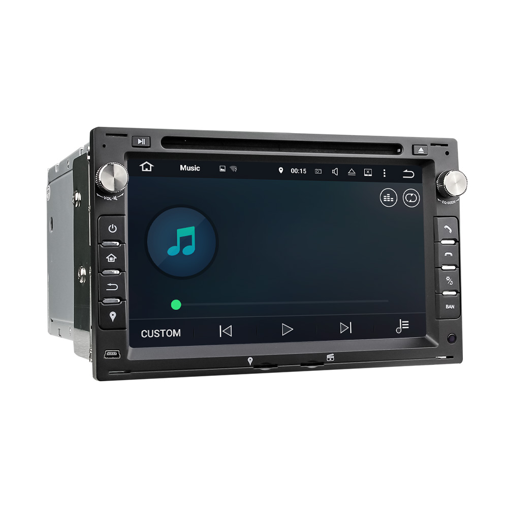 2 din 7 inch car radio GPS navigation with VW passat wireless rearview camera auto video car dvd multimedia navigator for VW