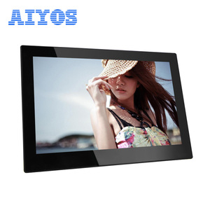 Auto Play Video 13.3 inch IPS Screen 1920*1080 LCD Monitor Video Player for Retail Stores