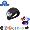 Wholesale Bicycle Accessories LED Silicone Bicycle Light & LED Bike Tail Light & LED Bicycle Light Flash light colourFUL