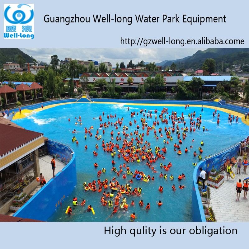 Hot vendita di surf onda macchina artificiale piscina con for Piscina wave