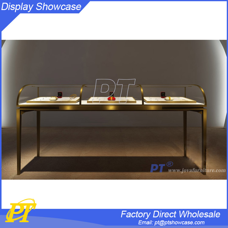 2016 Spinning floor jewelry showcase display