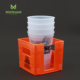 Wholesale plastic beer hot drink disposable coffee cup holder