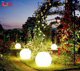 Outdoor Christmas hanging color changing led lighting ball