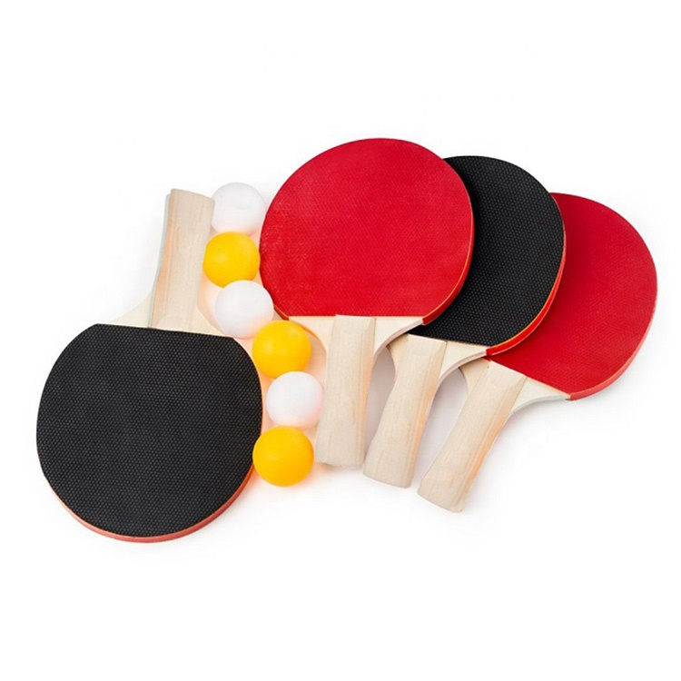 High Quality Custom Training Tennis Table Paddle Professional Ping Pong Racket