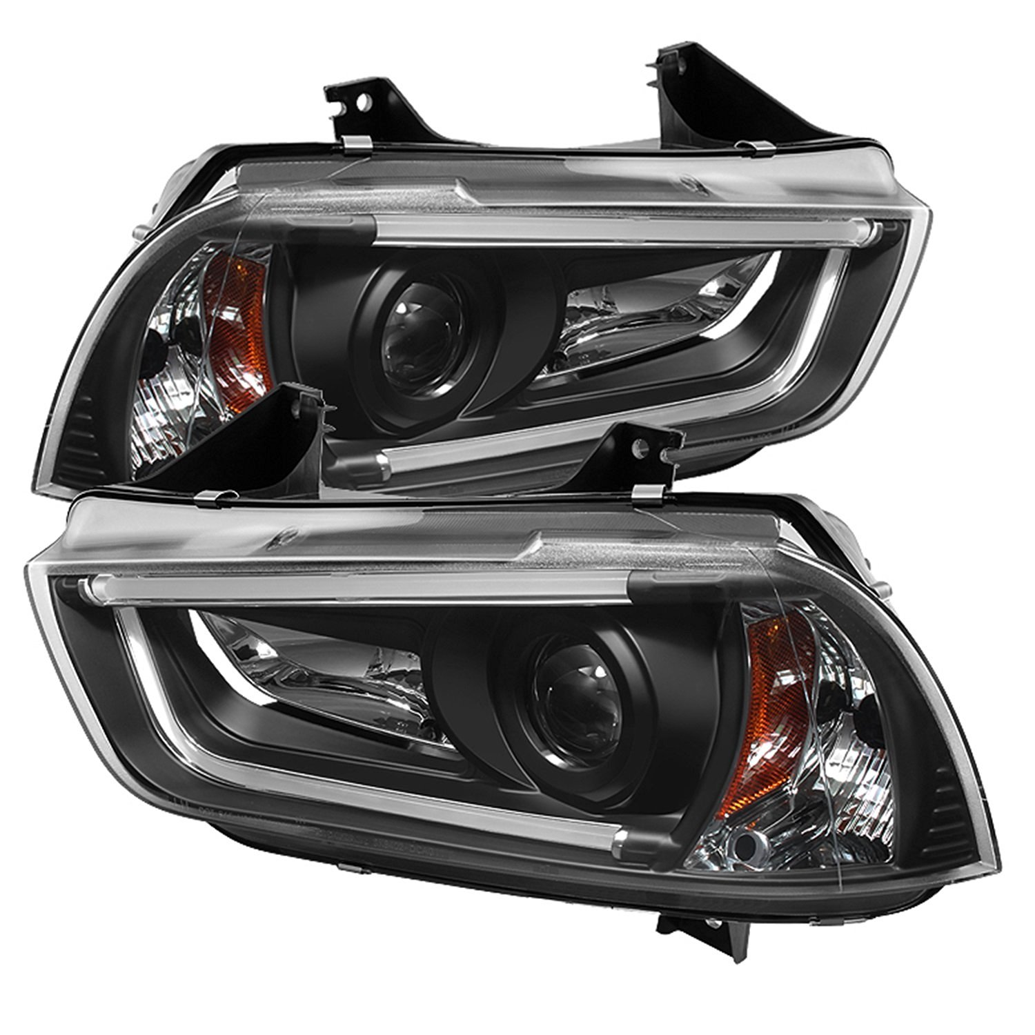 Spyder Auto (PRO-YD-DCH11-LTDRL-HID-BK) Dodge Charger Projector Headlight