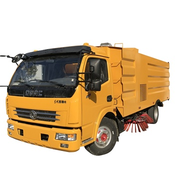 Dongfeng DLK 3800mm wheelbase 120HP road street sweeper truck air port cleaning truck