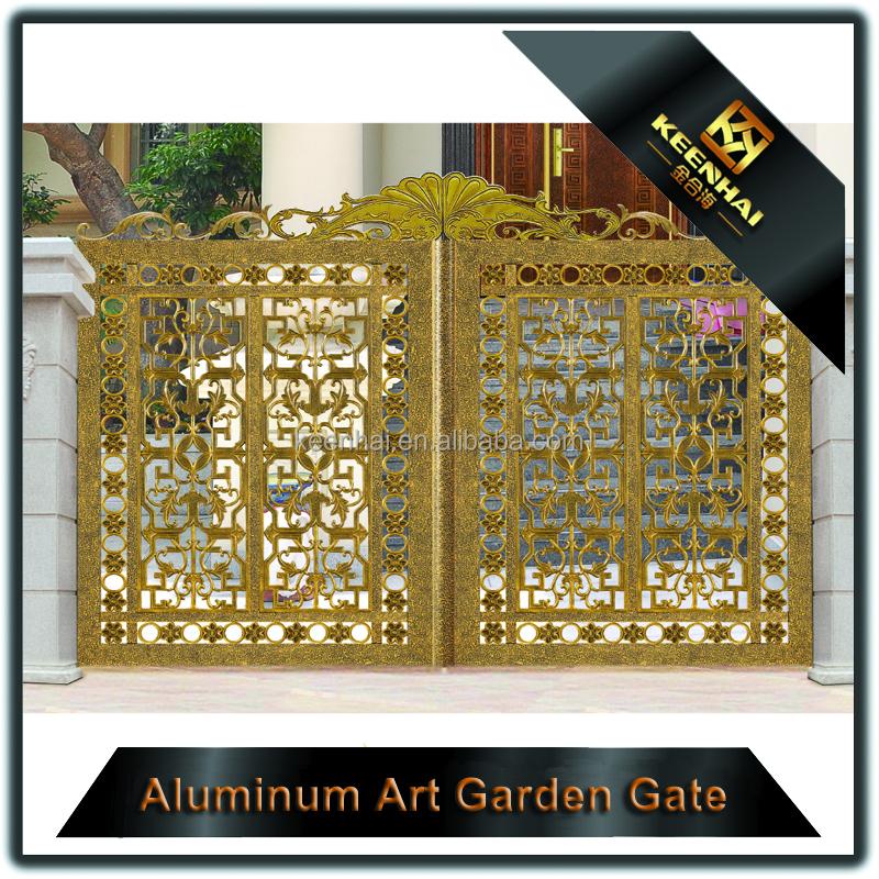 derni re maison en aluminium porte d 39 entr e principale conception pour villa cl tures treillis. Black Bedroom Furniture Sets. Home Design Ideas
