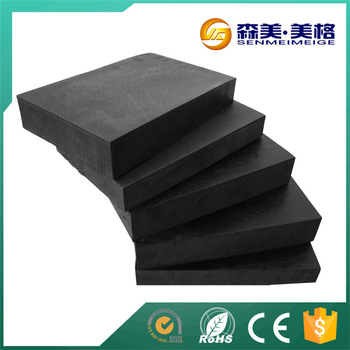China supplier silicone epdm closed cell rubber foam sheet