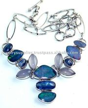 Blue Sun Star Jewels Buy Silver Wholesale Findings Jewellry Sets Necklaces