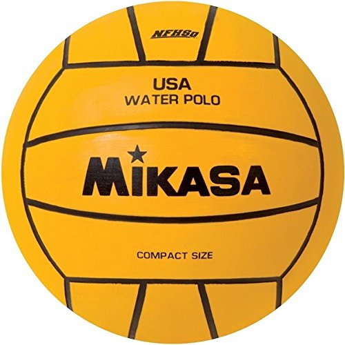 Mikasa Usa Water Polo Approved Game Ball; Nfhs Approved; Size 4 Compact-yellow