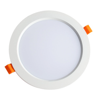 CE RoHS SAA certified 7w led downlight ceiling recessed ip44 downlight round slim panel light smd home and store use