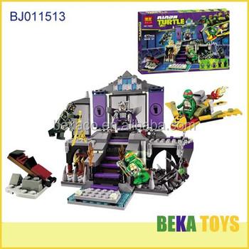 477 Pcs Teenage Mutant Ninja Turtles Series Toy,Wonderful Ninja ...