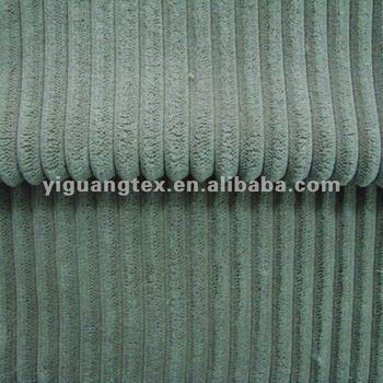 2.5/6Wale Straight Yellow Corduroy Fabric For Sofa( Cheap Price)