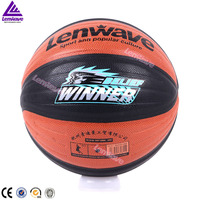 Lenwave brand double color customize your own basketball
