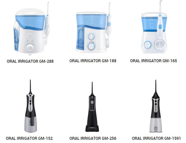 Wieder aufladbarer Mundpflegestoff-Wasser-Flosser für die Reise