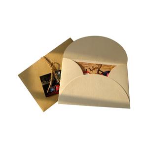 custom gift cardboard shatter paper packaging envelope