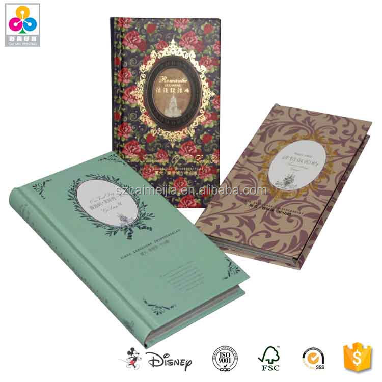 OEM fashion design personalised printing story book
