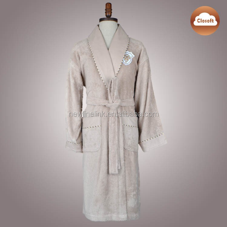 Plush Soft Dressing Gown Size L XL XXL Men Bathrobe