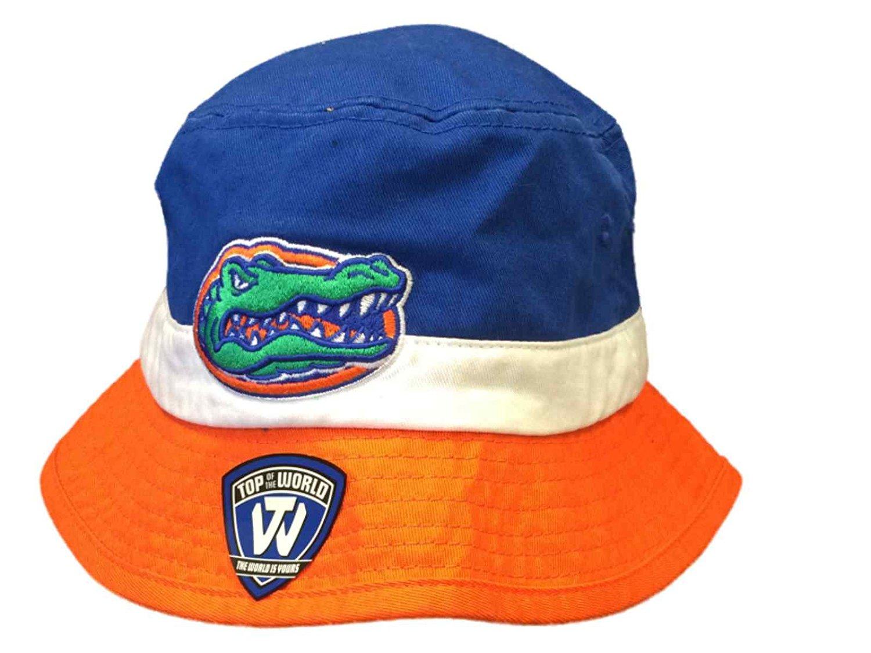 b361c19d53e Buy Florida Gators Top of the World Blue White Orange Cotton Bucket ...