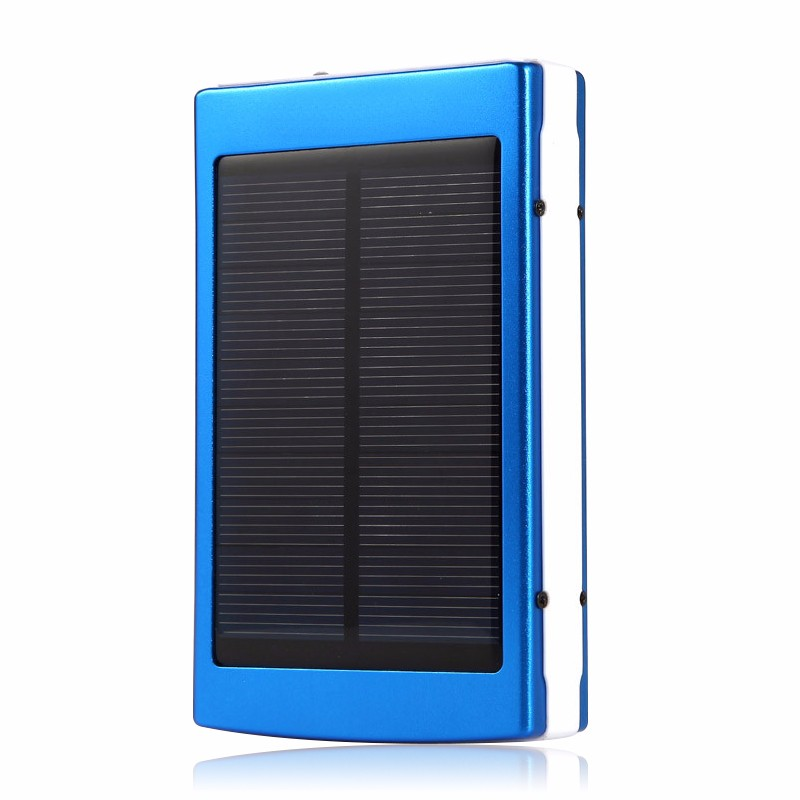 12000mah usb portable battery charger solar power bank with ce rohs