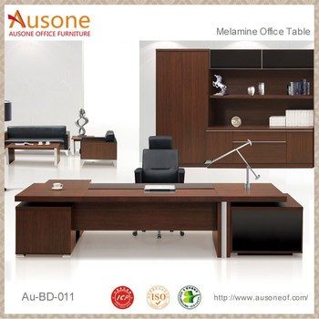 Executive Office Furniture Big Wooden Office Table Design Buy