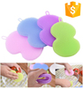 Cheapest and top quality Dish Wash Sponge silicone soft back body wash brush