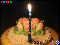 Factory directly supply singing birthday music candle