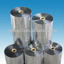 thin aluminum layer coated PET film 23 microns, used for food packaging